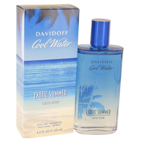Davidoff Cool Water Exotic Summer Eau De Toilette Spray (Limited Edition)