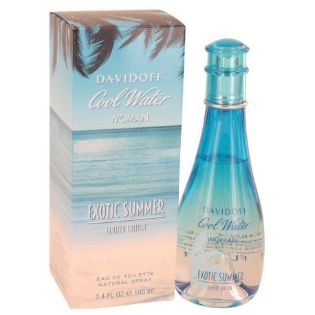 Davidoff Cool Water Woman Exotic Summer Eau De Toilette Spray (Limited Edition)
