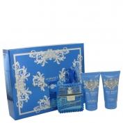 Versace Man Gift Set 50 ml Eau De Toilette Spray (eau Fraiche) + 50 ml Shower Gel + 50 ml After Shave Balm