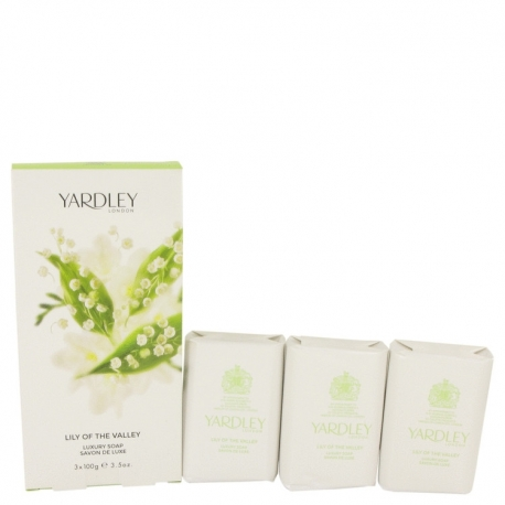 Yardley Lily Of The Valley 3 Soaps