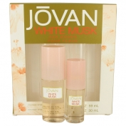 Jovan White Musk Gift Set 60 ml Cologne Spray + 30 ml Cologne Spray