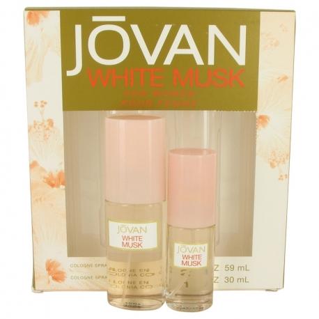 Jovan White Musk Gift Set 60 ml Cologne Spray + 30 ml Cologne Spray