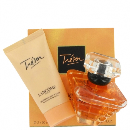 Lancôme Tresor Gift Set 50 ml Eau De Parfum Spray + 50 ml Perfumed Body Lotion