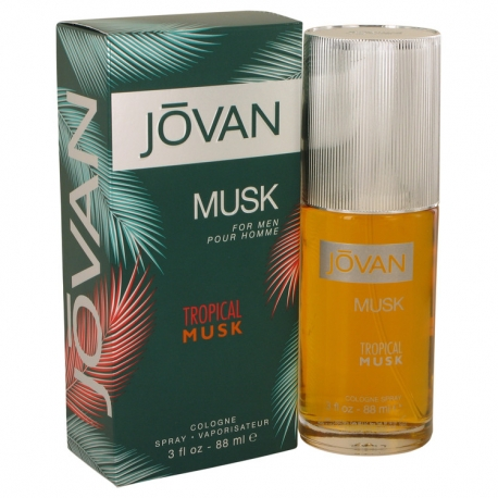 Jovan Jovan Tropical Musk Cologne Spray
