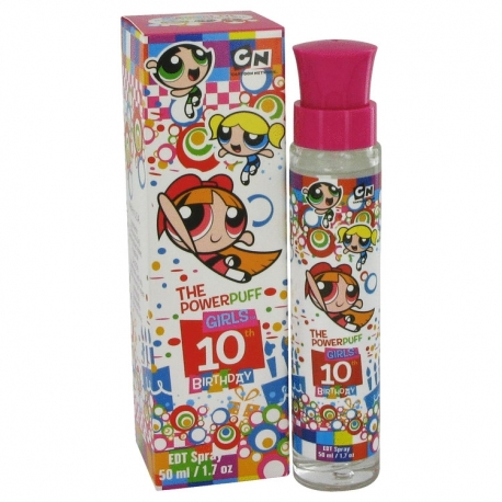 Warner Bros Powerpuff Girls 10th Birthday Eau De Toilette Spray