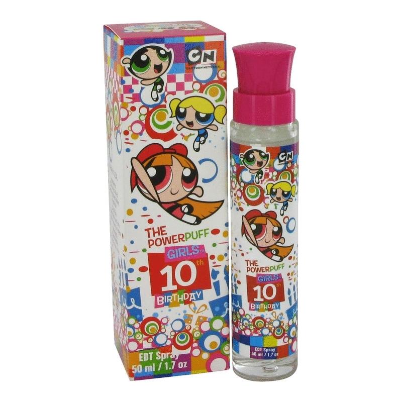 Warner Bros Powerpuff Girls 10th Birthday Eau De Toilette Spray