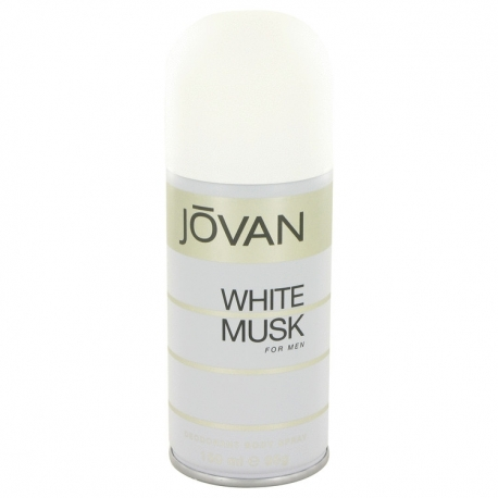 Jovan White Musk For Men Deodorant Spray
