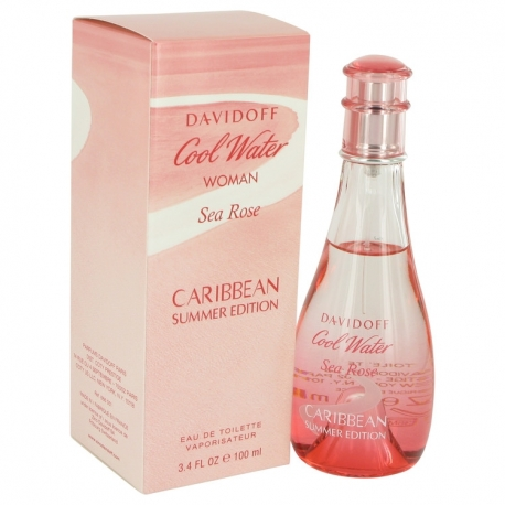 Davidoff Cool Water Sea Rose Caribbean Summer Eau De Toilette Spray