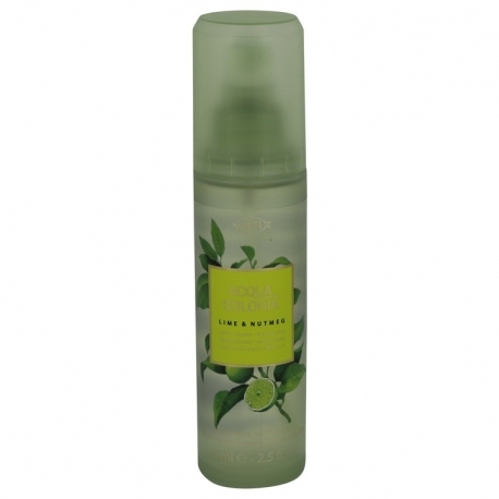 Maurer & Wirtz 4711 Acqua Colonia Lime & Nutmeg Body Spray