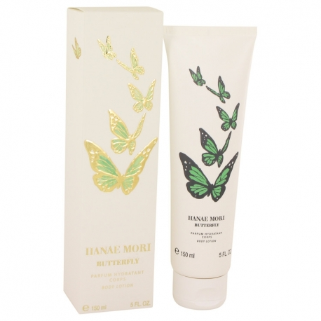 Hanae Mori Butterfly 20th Anniversary Body Lotion (Green Butterfly)