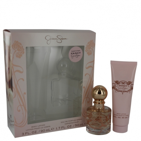 Jessica Simpson Fancy Gift Set 1.7 oz Eau De Parfum Spray + 3 oz Body Lotion