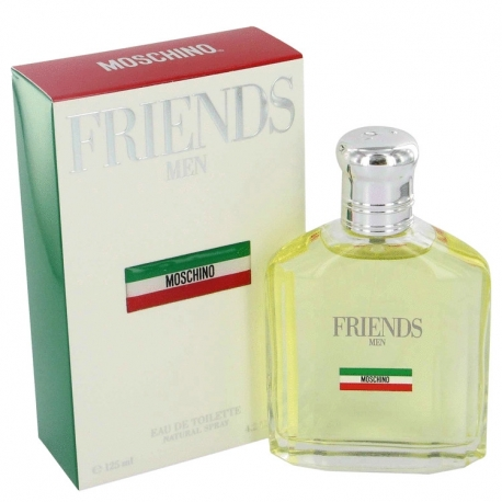 Moschino Friends Men Gift Set 4.2 oz Eau De Toilette Spray +1.7 oz After Shave Balm + 3.4 oz Shower Gel