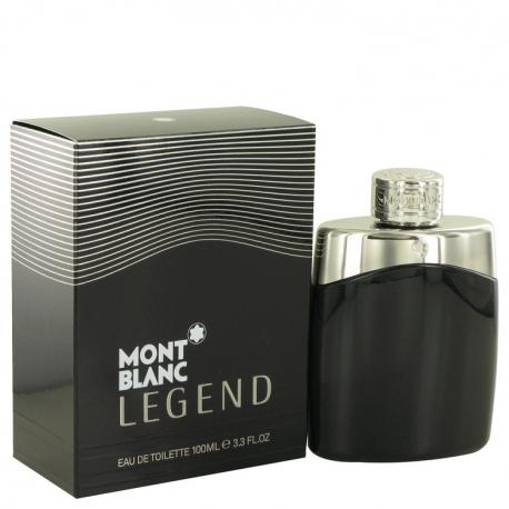Montblanc Legend Gift Set 3.3 oz Eau De Parfum Spray +.25 oz Mini EDP Spray + 3.3 oz After Shave Balm