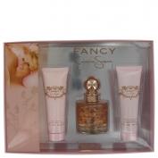 Jessica Simpson Fancy Gift Set 3.4 oz Eau De Parfum Spray + 3.4 oz Body Lotion + 3.4 oz Shower Gel