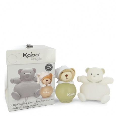Kaloo Kaloo Dragee Eau De Senteur Spray (Alcohol Free) + Free Bear Night Light