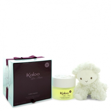 Kaloo Kaloo Les Amis Eau De Senteur Spray / Room Fragrance Spray (Alcohol Free) + Free Fluffy Lamb