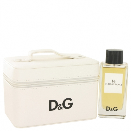 Dolce & Gabbana La Temperance 14 Eau De Toilette Spray in Travel Bag