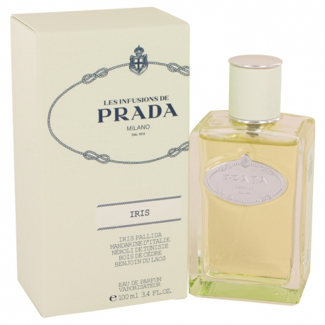 Prada Infusion D'iris Gift Set Mini Gift Set of Eight .27 oz Travel Sprays Includes Iris, Iris Cedre, Fleur D'oranger, Amande,