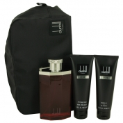 Alfred Dunhill Desire Gift Set 3.4 oz Eau De Toilette Spray + 3 oz Shower Gel + 3 oz After Shave Balm + Bag