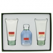 Hugo Boss Hugo Gift Set 1.3 oz Eau De Toilette Spray + 2.5 oz After Shave Balm + 2.5 oz Shower Gel
