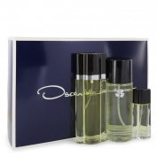 Oscar de La Renta Oscar Gift Set 3.4 oz Eau De Toilette Spray + 8.4 oz Body Mist + .5 oz Travel Size Spray