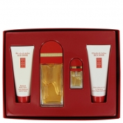 Elizabeth Arden Red Door Gift Set 3.3 oz Eau De Toilette Spray + .33 Eau De Toilette Spray + 3.3 oz Body Lotion + 3.3 oz