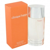 Clinique Happy Gift Set 1.7 oz Eau De Parfum Spray + 2.5 oz Body Cream + .34 oz Mini EDP Spray