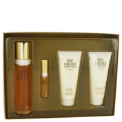 Elizabeth Taylor White Diamonds Gift Set 3.3 oz Eau De Toilette Spray + .33 oz Mini EDT Spray + 3.3 oz Body Lotion + 3.3 oz