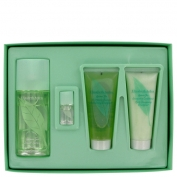 Elizabeth Arden Green Tea Gift Set 3 oz Eau Pafumee Spray + 3.3 oz Shower Gel + 3.3 oz Conditioner + .12 oz Scent Eau Parfumee