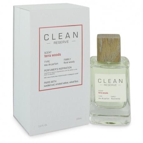 Clean Clean Terra Woods Reserve Blend Eau De Parfum Spray