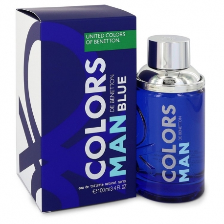 Benetton Colors De Benetton Blue Eau De Toilette Spray