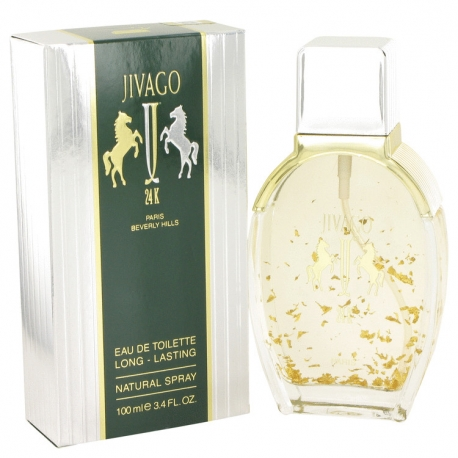 Jivago 24k For Men Eau De Toilette Spray