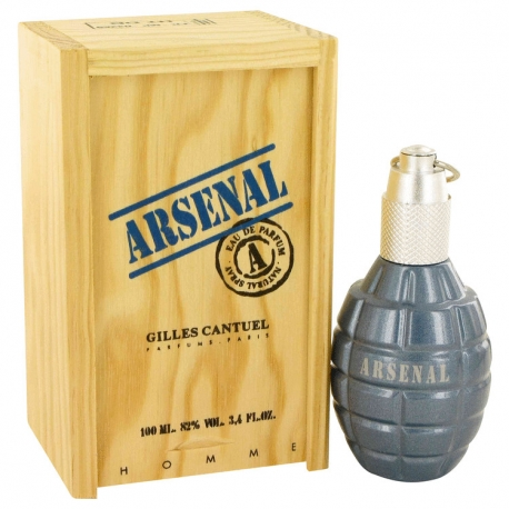 Gilles Cantuel Arsenal Blue Eau De Parfum Spray