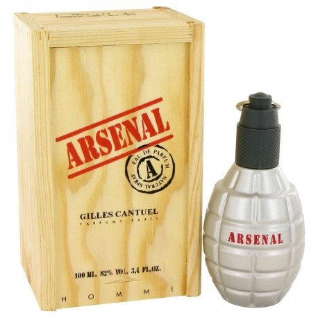 Gilles Cantuel Arsenal Red Eau De Parfum Spray