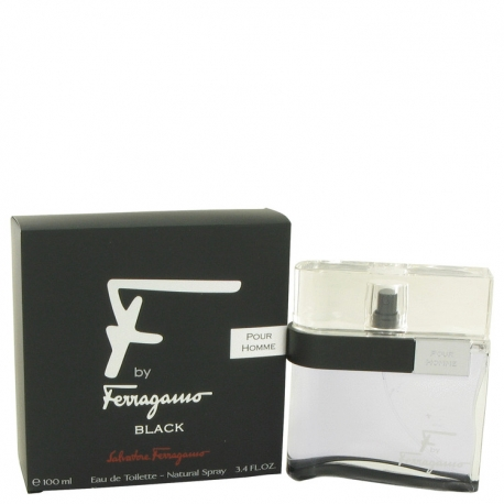Salvatore Ferragamo F By Ferragamo Black Eau De Toilette Spray