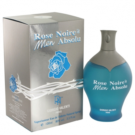 Giorgio Valenti Rose Noire Absolue For Men Eau De Toilette Spray