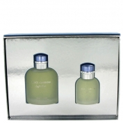 Dolce & Gabbana D&g Light Blue Gift Set 4.2 oz Eau De Toilette Spray + 1.3 oz Eau De Toilette Spray