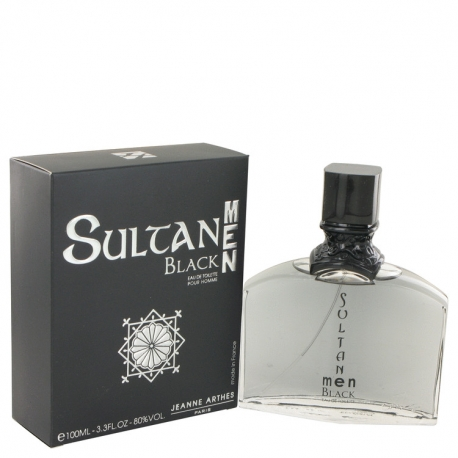 Jeanne Arthes Sultane Black Men Eau De Toilette Spray