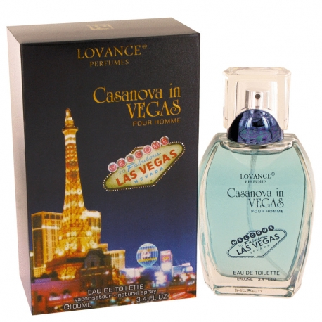 Lovance Casanova in Vegas Eau De Toilette Spray