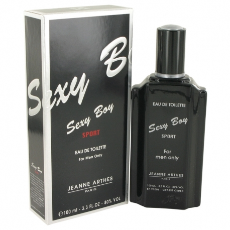 Jeanne Arthes Sexy Boy Sport Eau De Toilette Spray