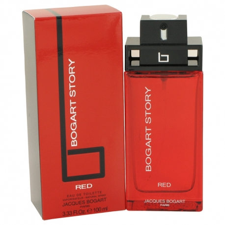 Jacques Bogart Bogart Story Red Eau De Toilette Spray