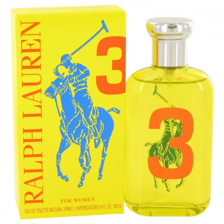 Ralph Lauren Big Pony 3 For Women Eau De Toilette Spray