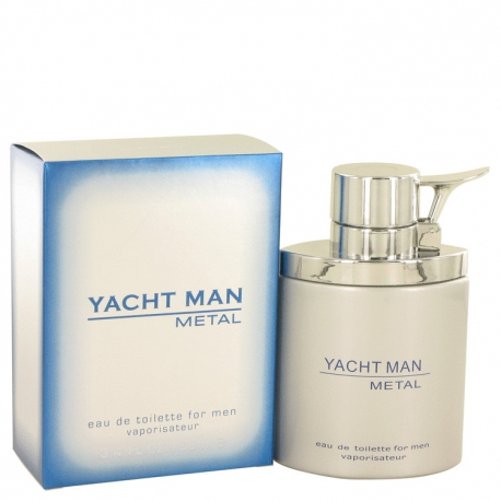 Myrurgia Yacht Man Metal Eau De Toilette Spray