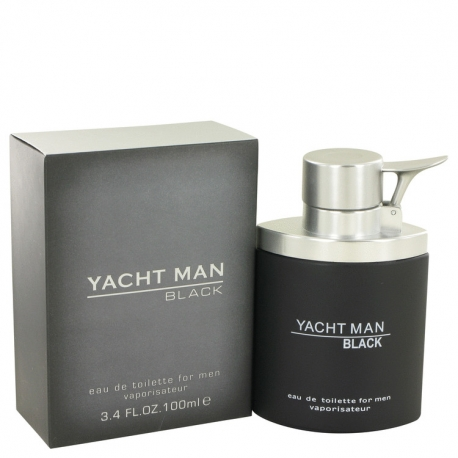 Myrurgia Yacht Man Black Eau De Toilette Spray