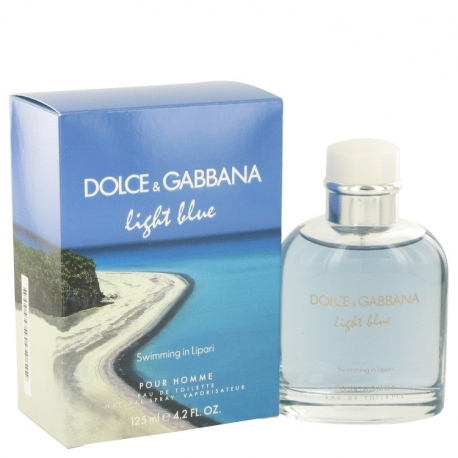 Dolce & Gabbana Light Blue Swimming In Lipari Eau De Toilette Spray