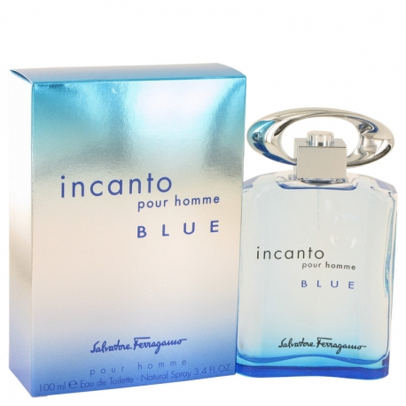 Salvatore Ferragamo Incanto Blue Eau De Toilette Spray