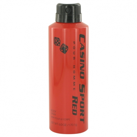 Casino Perfumes Casino Sport Red Body Spray (No Cap)