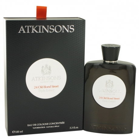 Atkinsons 24 Old Bond Street Triple Extract Eau De Cologne Concentrate Spray