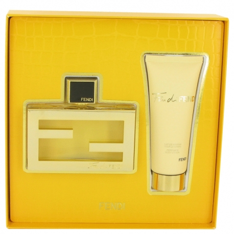 Fendi Fan Di Fendi Gift Set 75 ml Eau De Parfum Spray + 75 ml Body Lotion