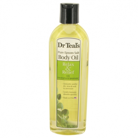 Dr Teal's Dr Teal's Bath Additive Eucalyptus Oil Pure Epson Salt Body Oil Relax & Relief with Eucalyptus & Spearmint